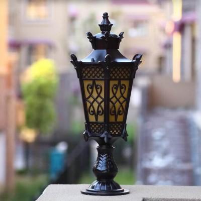 欧式柱头灯