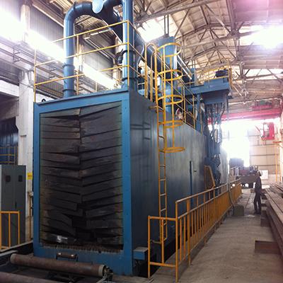 QHP系列钢结构抛丸机