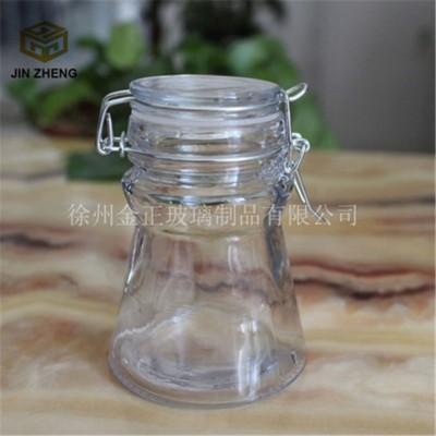 异形透明玻璃罐