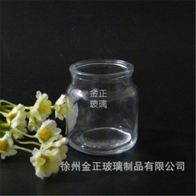 透明广口膏霜玻璃瓶