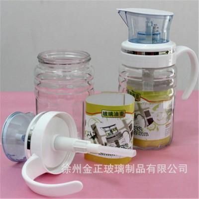 550ml计量器压力玻璃油壶
