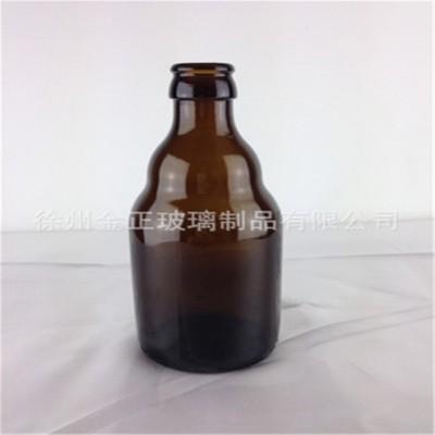 340ML棕色玻璃啤酒瓶