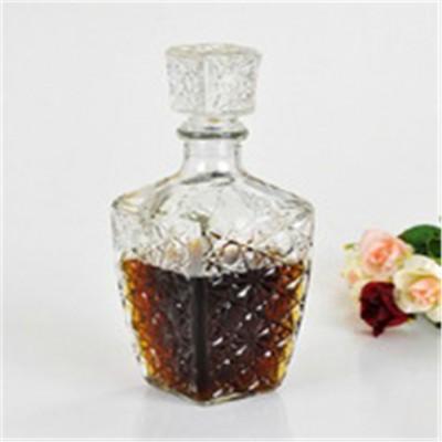 250ml创意钻石洋酒瓶