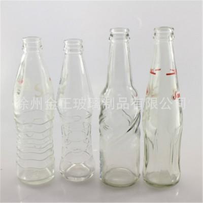 650ml条纹果汁饮料玻璃瓶