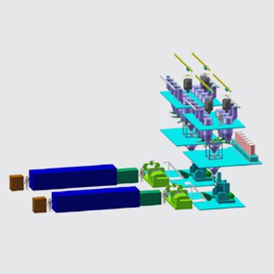 全自动密炼机上辅机系统(方案一)