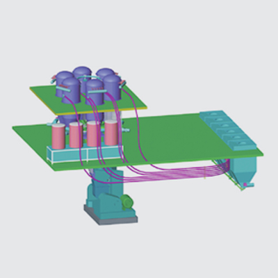 全自动密炼机上辅机系统(方案二)