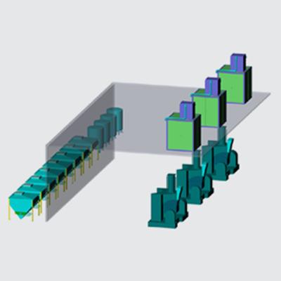 全自动密炼机上辅机系统(方案四)