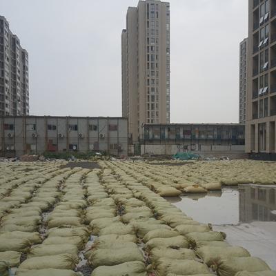 杭州北新新家园车库顶板回填