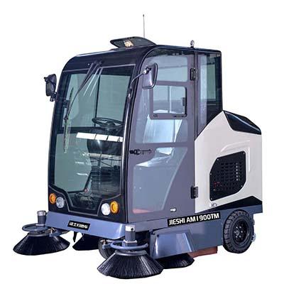 AM1900TM全封闭式驾驶式扫地车