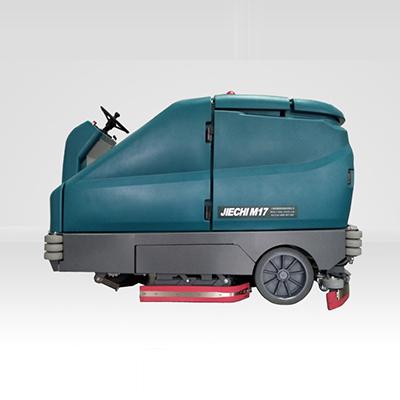 洁驰M17驾驶式洗扫一体机