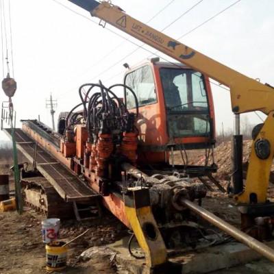 德航高端系列钻机在甘肃施工