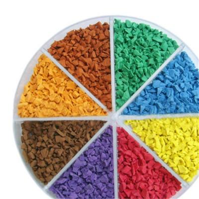 彩色塑胶颗粒