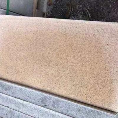 市政仿石材透水砖安装